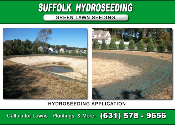 Calverton Hydroseeding Application